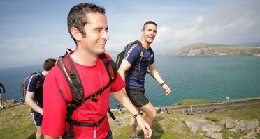 Kerry Challenge male walkers scenic shot